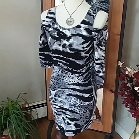HOT GAL Dresses & Skirts - Hot Gal Animal Print Dress